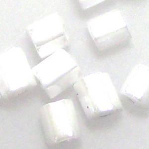 Miyuki size 8 hex: 420 - White Shimmer