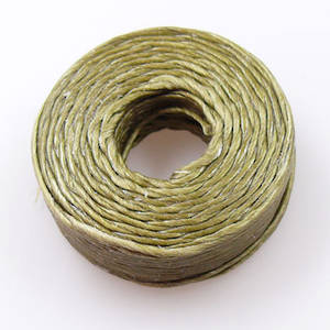 1mm Cotton 'Sinew' Cord - Khaki