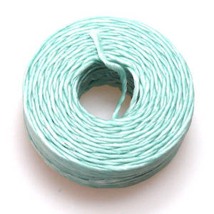 1mm Cotton 'Sinew' Cord - Light Mint