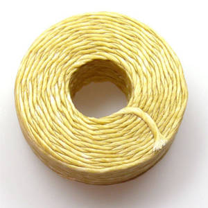 1mm Cotton 'Sinew' Cord - Straw