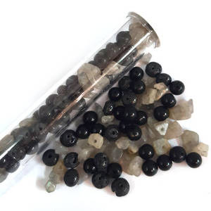 NEW! Semi-Precious Chip/Bead Mix - Galaxy (tall tube)