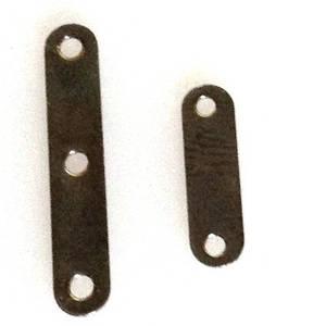 Spacer Bar, plain, gunmetal