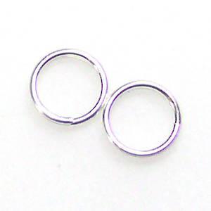 Split Ring, sterling silver 6mm