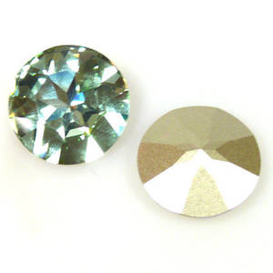 27mm Swarovski 1201 Large Stone, Chrysolite
