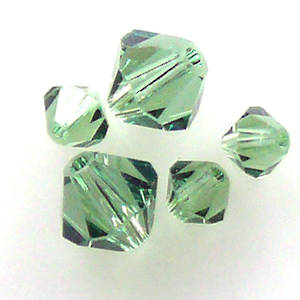 4mm Swarovski Crystal Bicone, Erinite