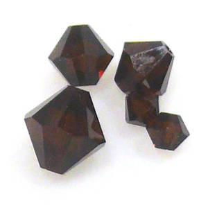4mm Swarovski Crystal Bicone, Mocha