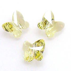 Swarovski Crystal Butterfly, Jonquil