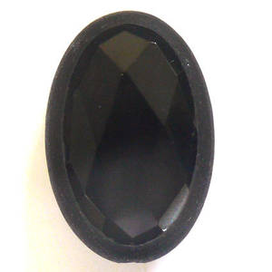 Oval Agate Cameo Bead, 30mm x 20mm x 12mm