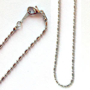 Pendant sink chain - antique silver
