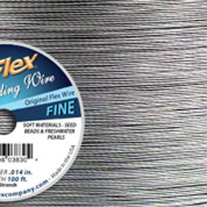 OUT OF STOCK Fine Softflex: Silver - 30 foot  (9m) spool