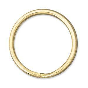 24mm Split Ring, gold