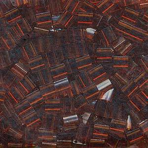 Tila Bead, 5mm, Transparent Dark Topaz