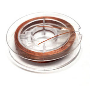 Tigertail Beading Wire: 10m roll - Copper