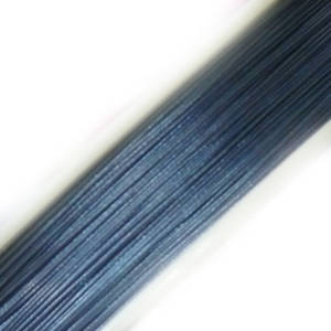 Tigertail Beading Wire: 100m roll - Light Denim Blue