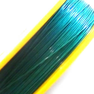 Tigertail Beading Wire: 100m roll - Emerald (A grade)