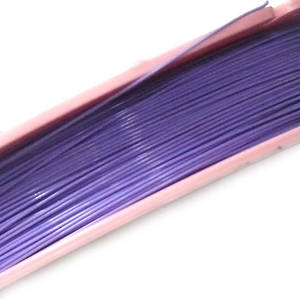 Tigertail Beading Wire: 100m roll - Lavender (A grade)