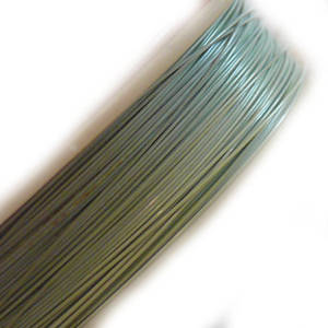 Tigertail Beading Wire: 100m roll - Pastel Mint Green