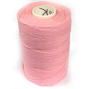 1mm Braided Waxed Cord, Light Pink