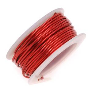 Artistic Wire: 24 gauge, Red
