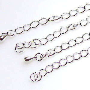 Extender Chain: Antique silver