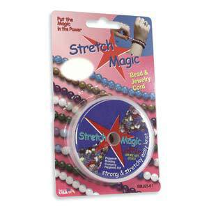 0.7mm Clear Stretch Magic Cord - 5m roll