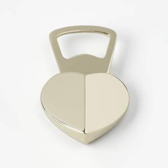 kate spade new york park circle heart bottle opener
