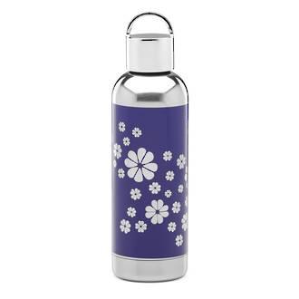 Navy Floral Hydration Bottle