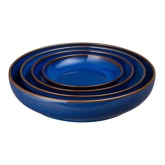 Imperial Blue Nesting Bowl Set, 4 Piece