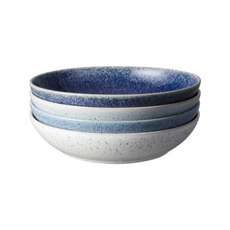 Studio Blue Pasta Bowl Set 4
