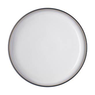 Studio Grey Medium Plate, White 21cm