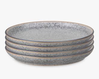 Studio Grey Dinner Plates, Grey set 4