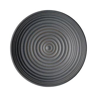 Studio Grey Small Ridged Charcoal Bowl 16cm