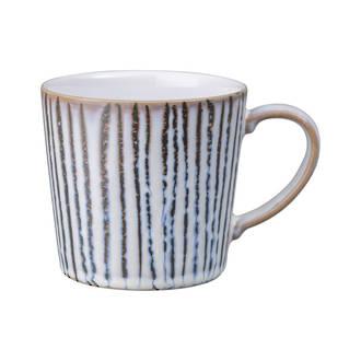 Denby Light Grey Vertical Mug