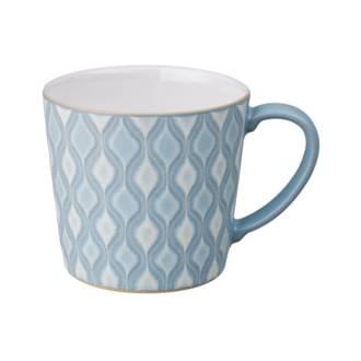 Hourglass Blue Impression Mug