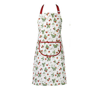 Alpine Strawberry Apron