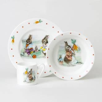 Bunnies 3 Piece Gift Set