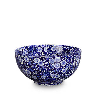 Calico Small Footed Bowl