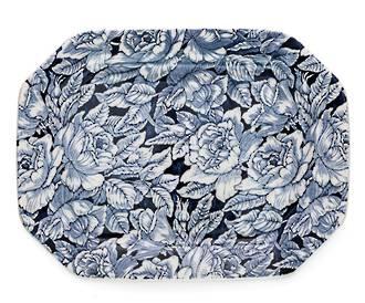 Burleigh Hibiscus Rectangle Platter 34cm
