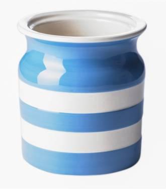 Cornish Blue Utensil Jar