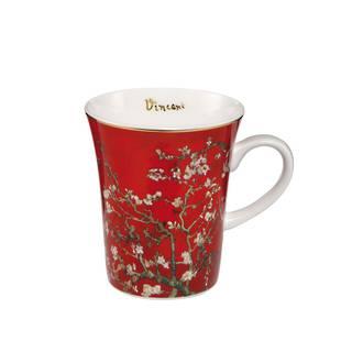 Almond Tree Red Mug 400ml