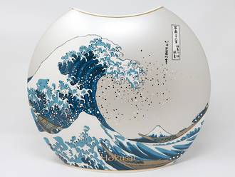 The Great Wave Vase 30cm