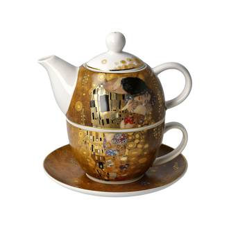 The Kiss Gold - Tea for One - Klimt