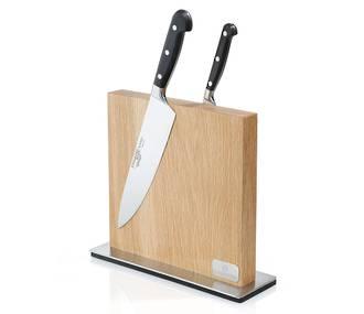 Oak Magnetic Knife Block