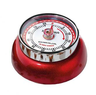 Candy Red Kitchen Timer