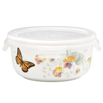 Butterfly Meadow Serve 'n' Store Round 13cm