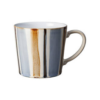 Denby Stripe Brown Mug
