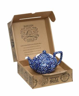Calico Small Teapot, Boxed