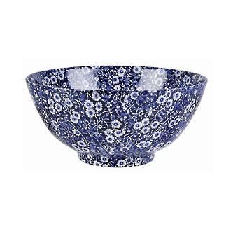 Calico Medium Footed Bowl
