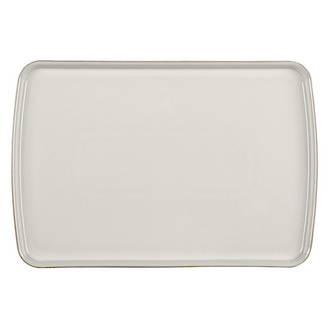 Denby Canvas Rectangular Plate, Large
