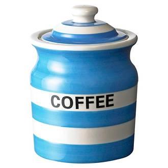 Cornish Blue Coffee Storage Jar
